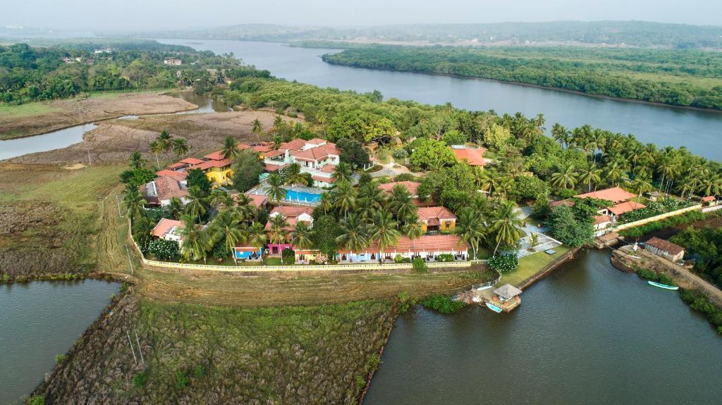A bird's-eye view of Mercure Goa Devaaya Retreat