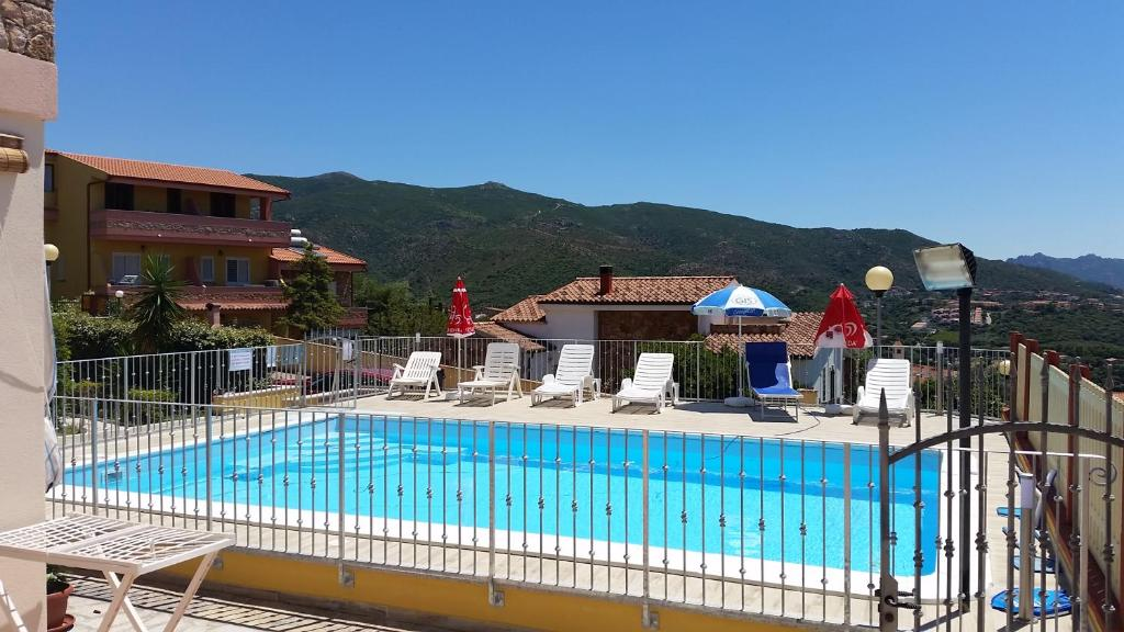 "A view of the pool at Casa vacanze ""La Caldosa"" or nearby"
