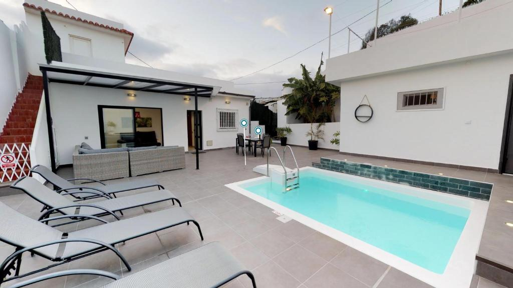 Wifi House with Pool in Bandama - Las Palmas, Las Palmas de ...