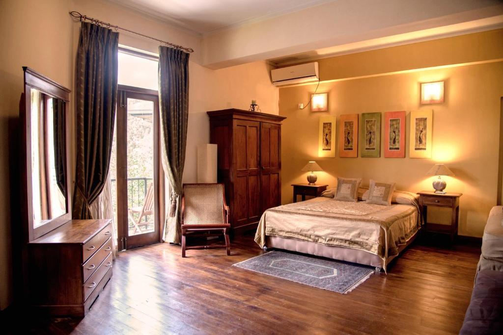 Ein Bett oder Betten in einem Zimmer der Unterkunft Villa 49