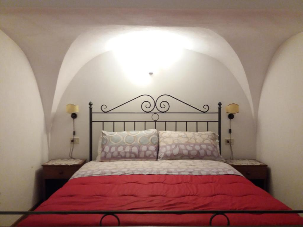 A bed or beds in a room at B&b Nosteon