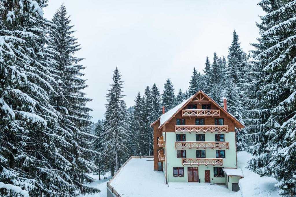 Hotel Jasná v zime