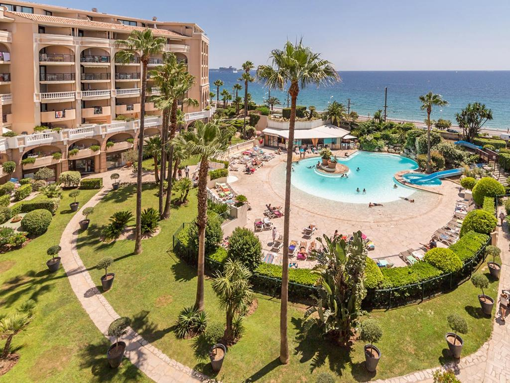 Vue panoramique sur l'établissement Résidence Pierre & Vacances Cannes Verrerie