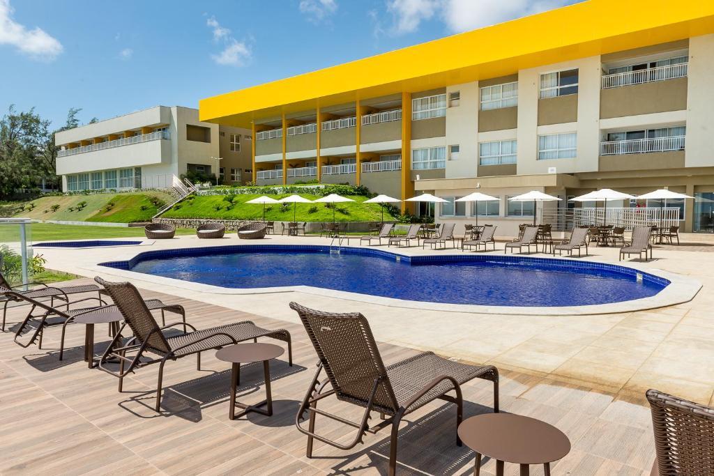 The swimming pool at or near Hotel Senac Barreira Roxa