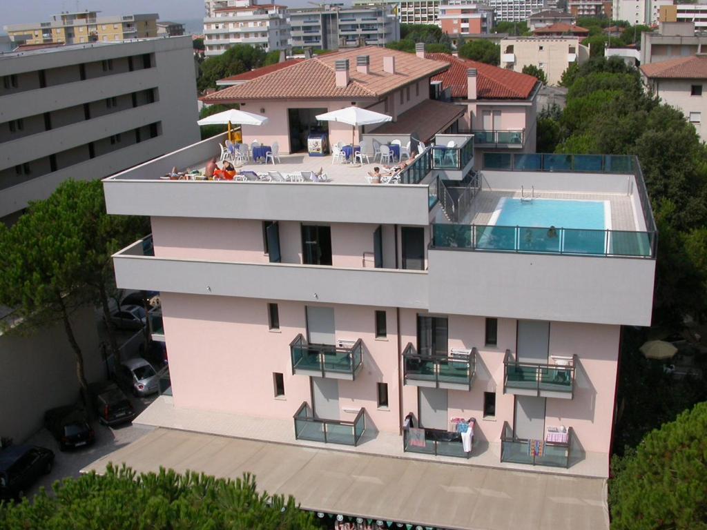 Letecký snímek ubytování Olimpia Hotel & Aparthotel