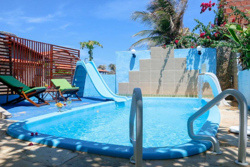Aqua park at the guest house or nearby