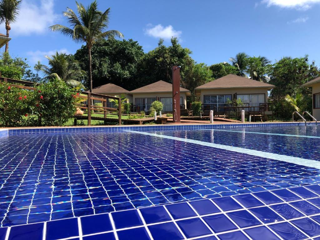 The swimming pool at or near Pousada Lua Bela