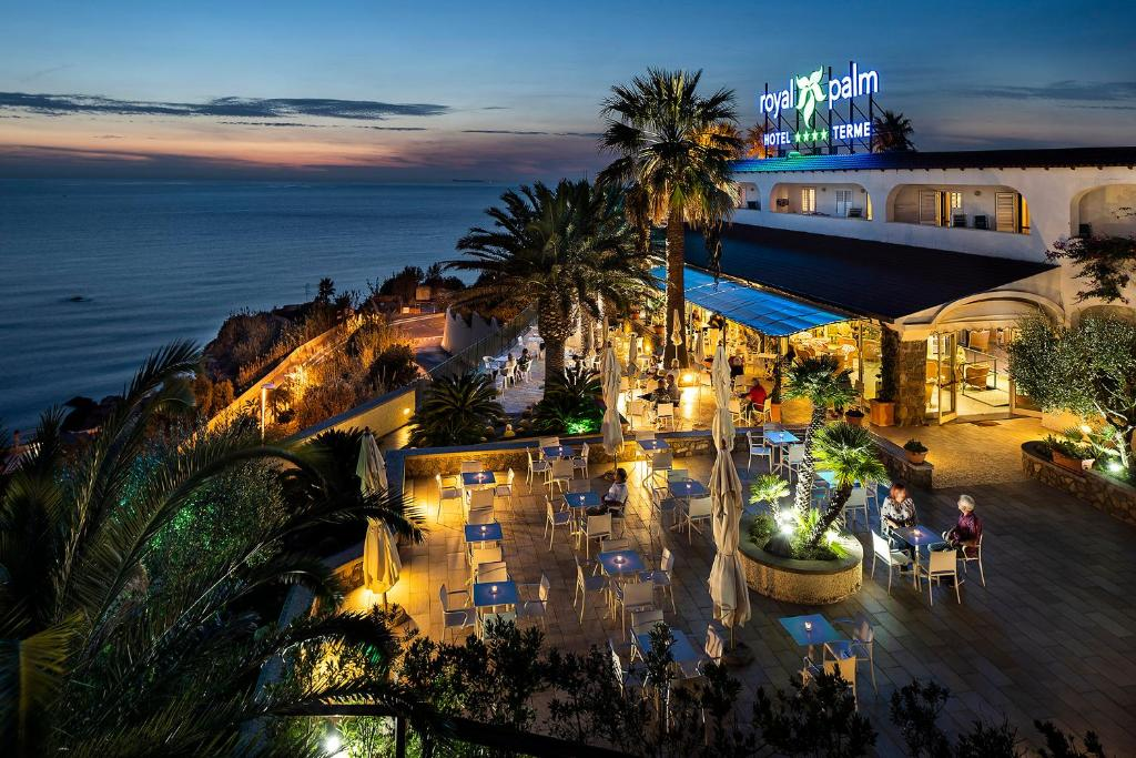 Hotel Terme Royal Palm с высоты птичьего полета