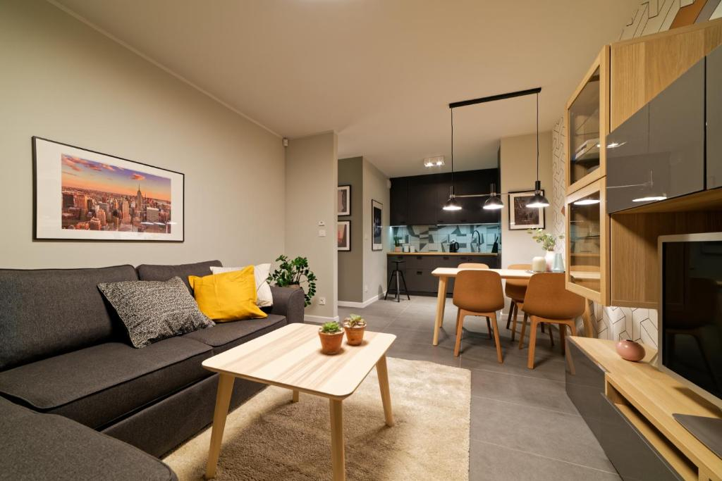 A seating area at Martikal Apartment - PKP