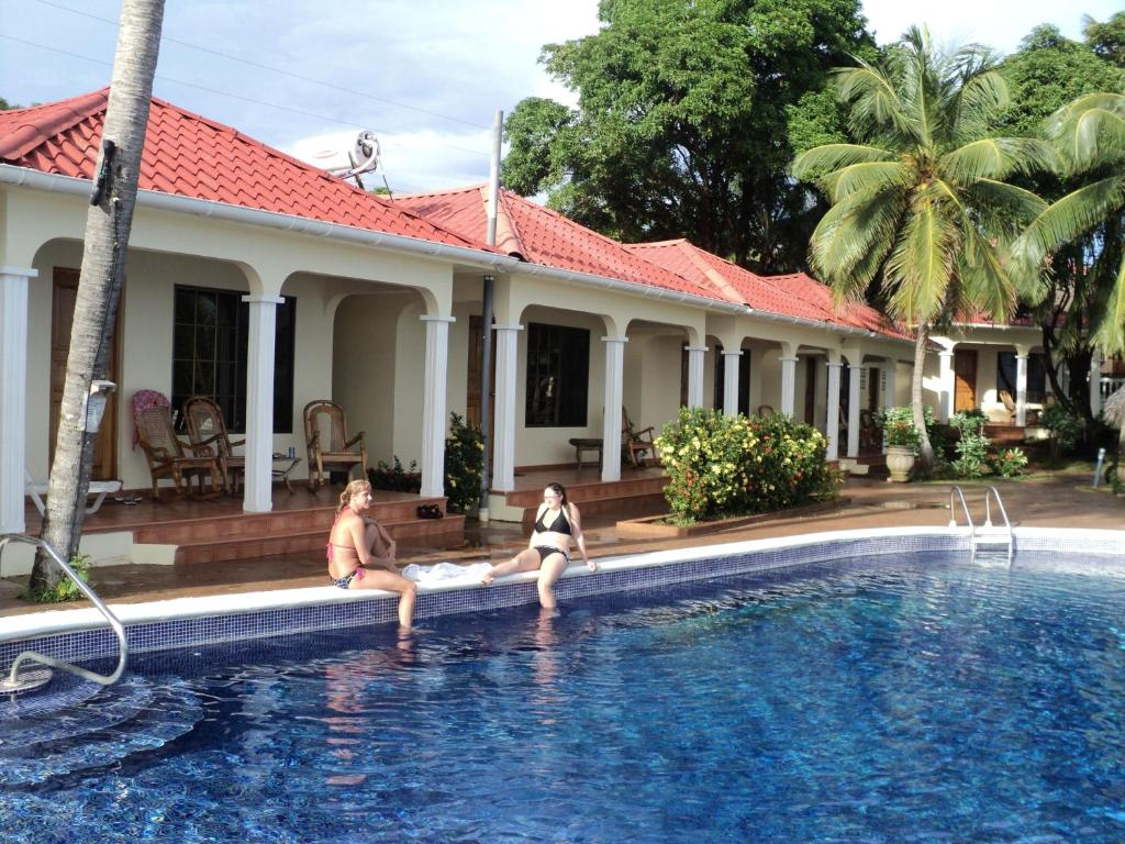 The swimming pool at or near Hotel Casa Canada