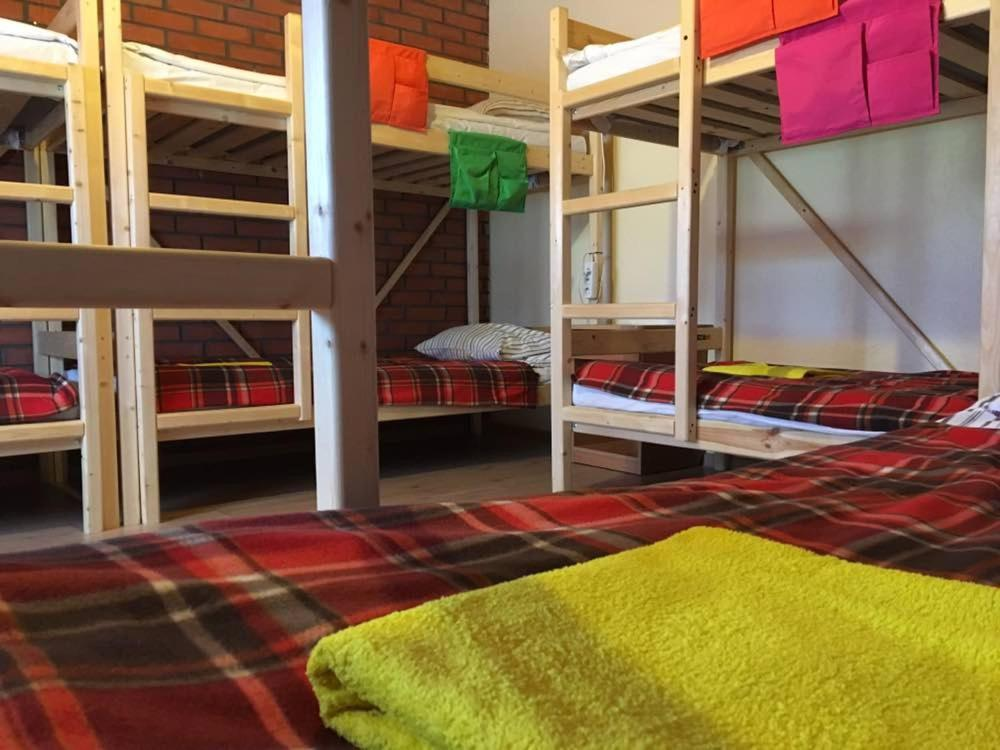 A bunk bed or bunk beds in a room at Hostel Yes