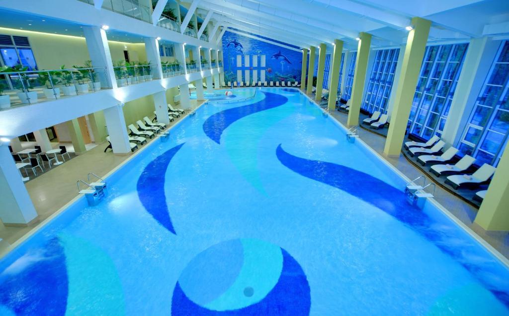 The swimming pool at or near LES Art Resort