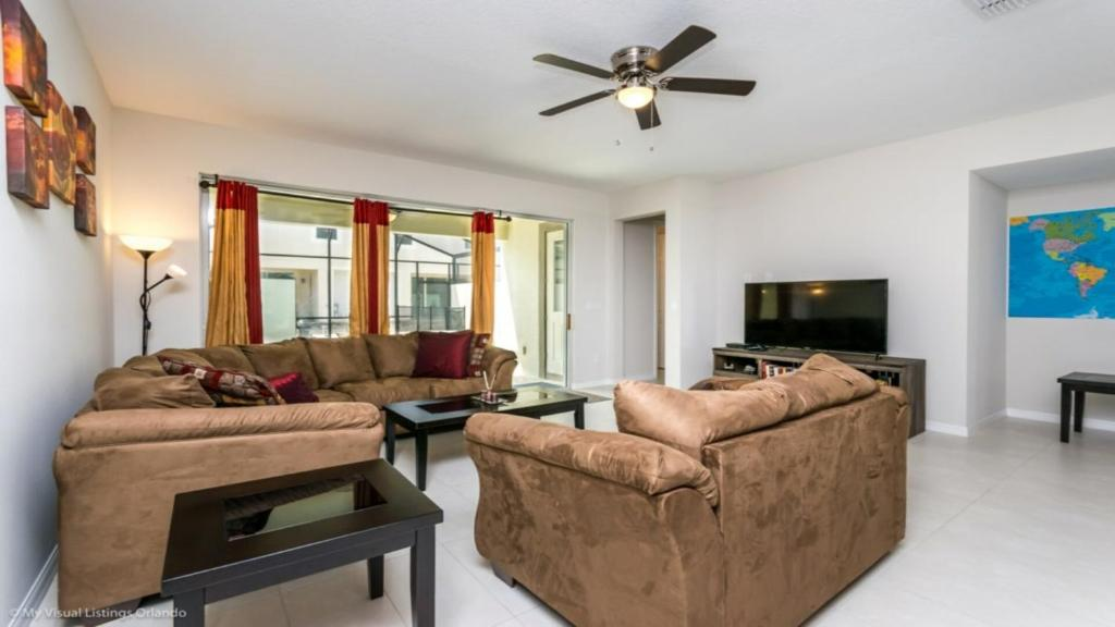 A seating area at EV272713 - Solara Resort - 3 Bed 3 Baths Townhouse