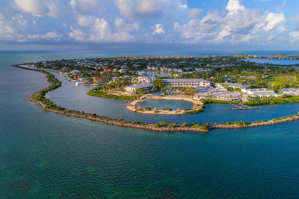 Tầm nhìn từ trên cao của Hawks Cay Resort