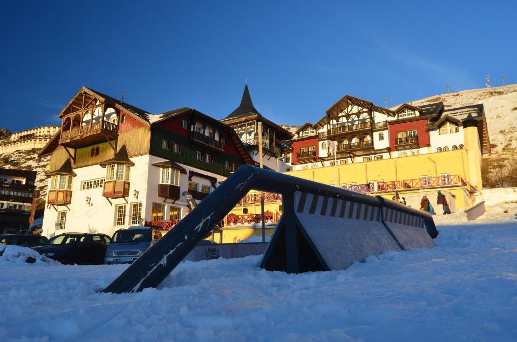 Hotel GHM Monachil in de winter