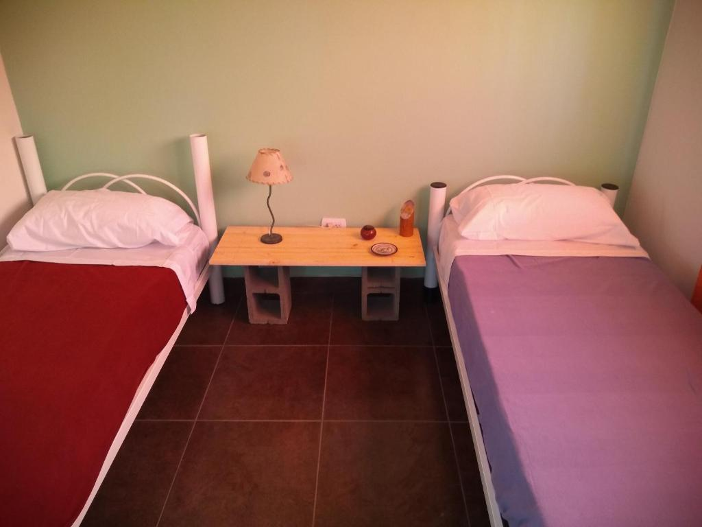 Una cama o camas en una habitación de Miró al Piltri