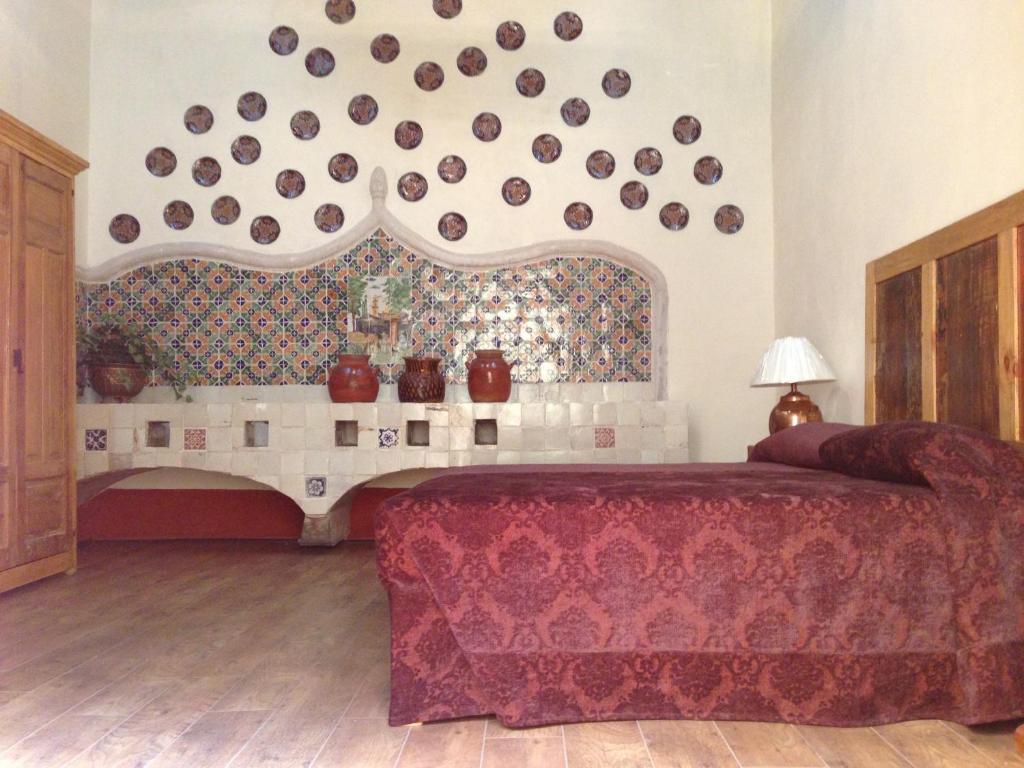 The lobby or reception area at Hotel Casa de la Palma Travel