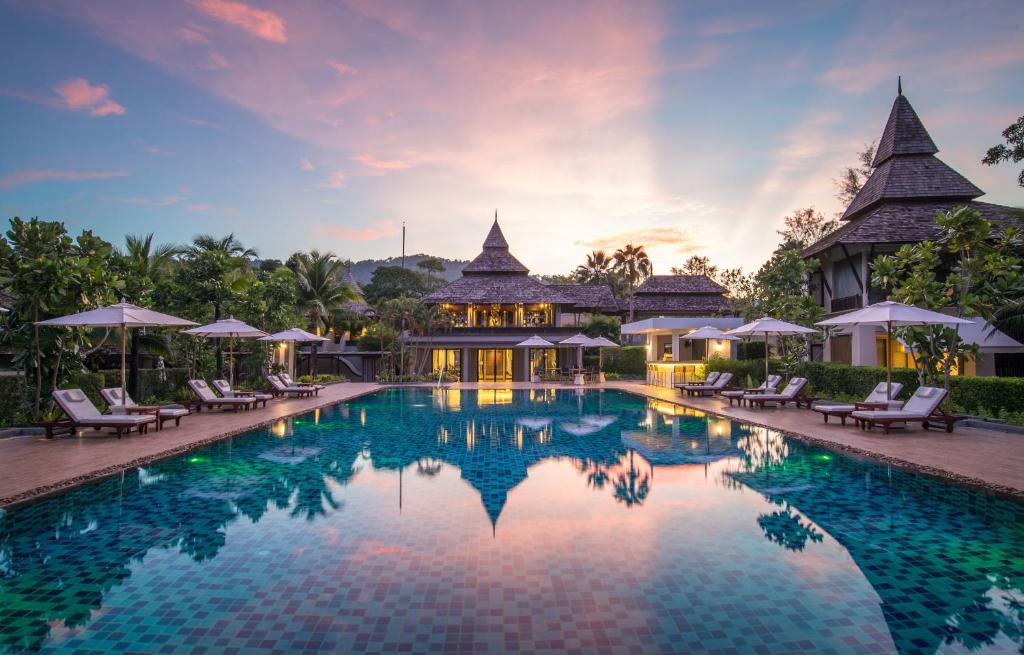 The swimming pool at or near Layana Resort & Spa - Adults Only