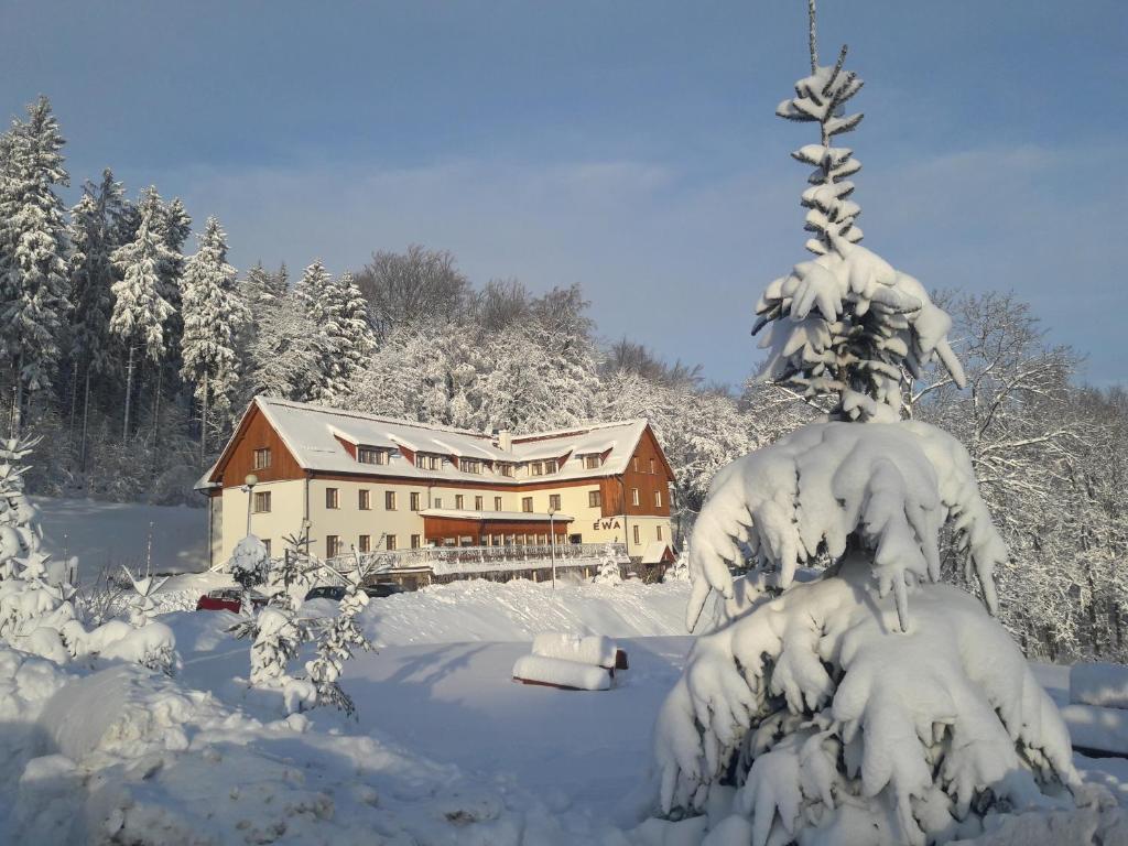 Obiekt Ewa Medical & SPA zimą
