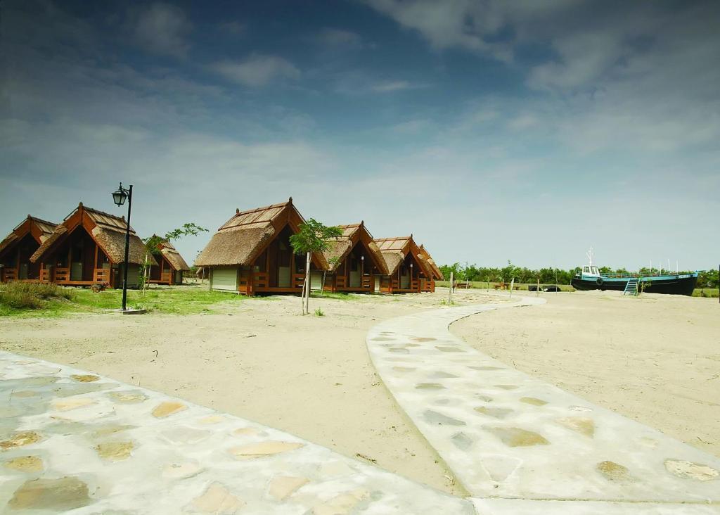 캠프장 근처 해변