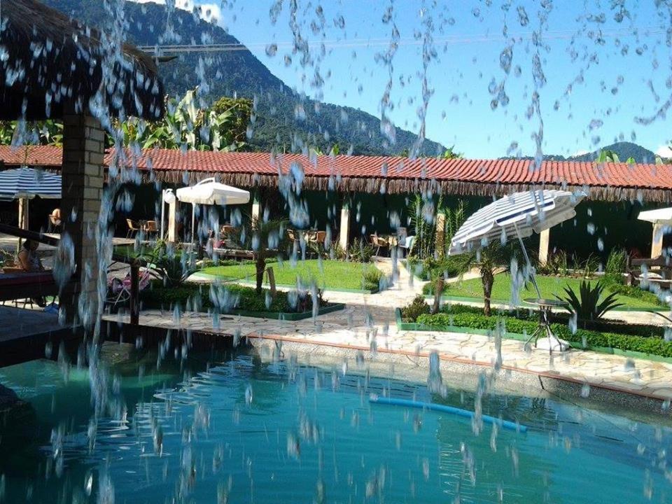 Swimming pool sa o malapit sa Sítio Canaã