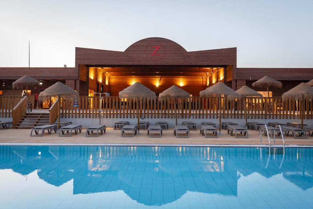 The swimming pool at or near Zmar Eco Experience