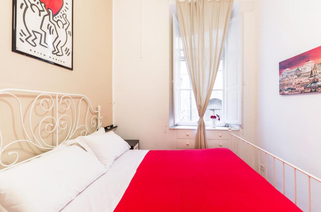 A bed or beds in a room at Er Cupolino