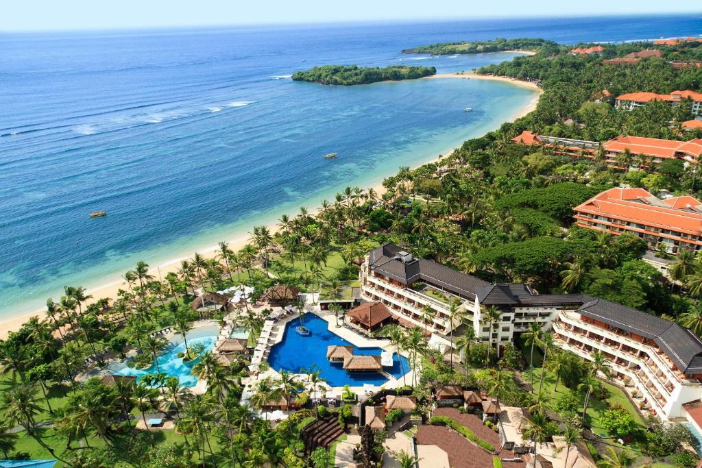 A bird's-eye view of Nusa Dua Beach Hotel & Spa, Bali