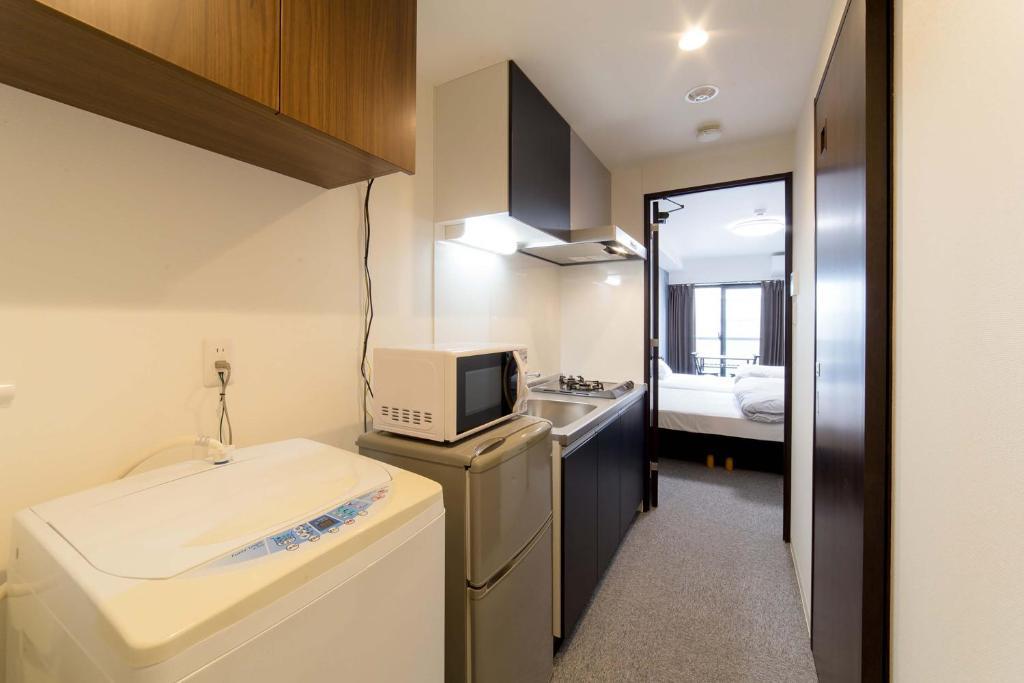 ห้องน้ำของ Hotel Seagull Palace Abeno