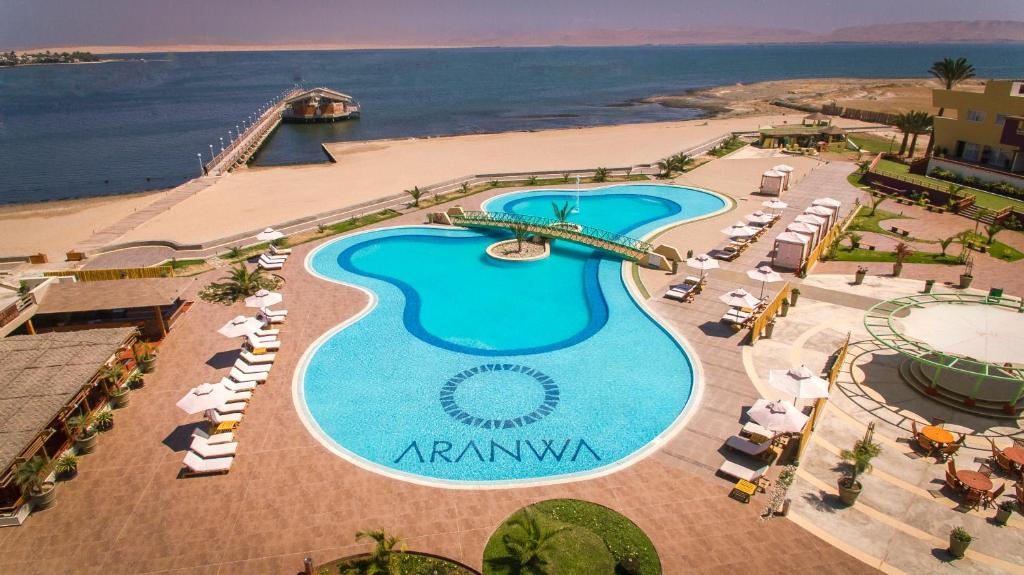 A view of the pool at Aranwa Paracas Resort & Spa or nearby