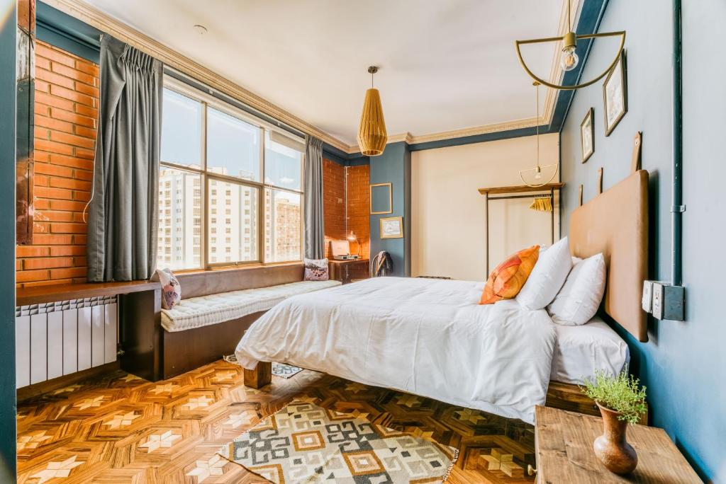 Cama o camas de una habitación en Selina La Paz
