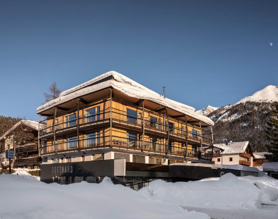 GOTTHARD - FINE LIVING APARTMENTS during the winter