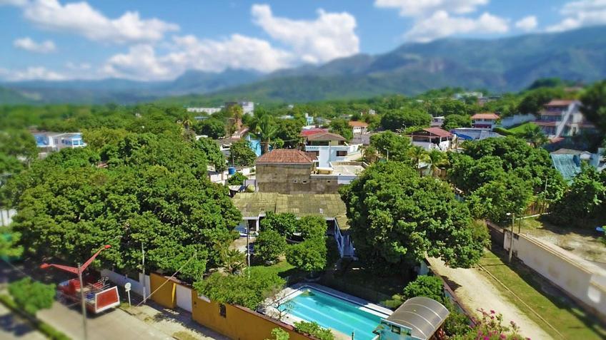 Widok z lotu ptaka na obiekt Quinta Campestre Paraíso