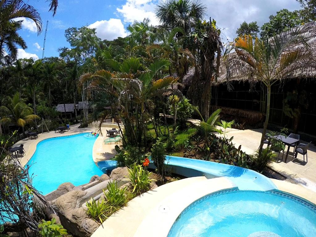 A view of the pool at Ceiba Tops or nearby