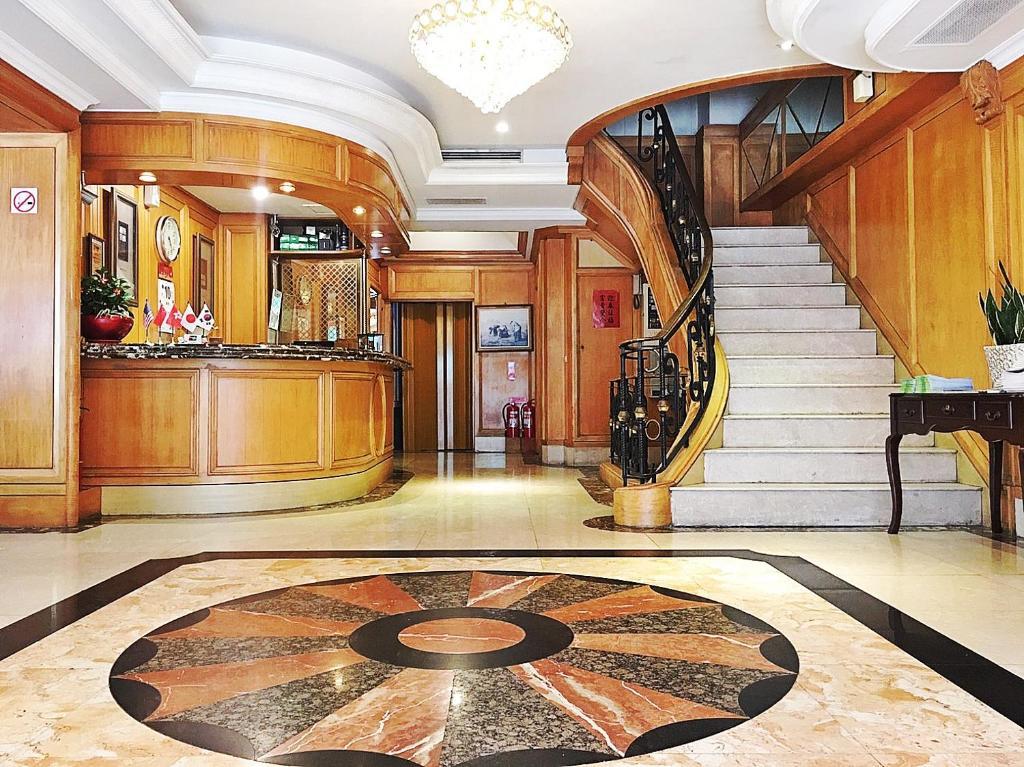 Hall ou réception de l'établissement Meadow Hotel Taipei