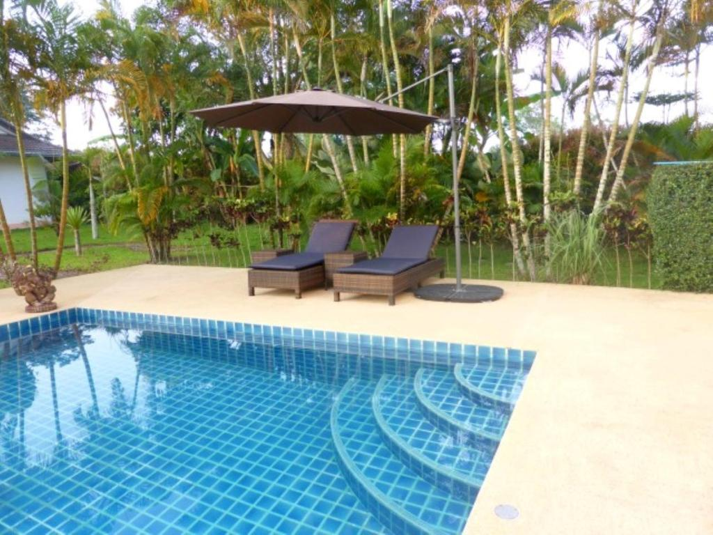 Garden With Swimming Pool guesthouse in beautiful garden with swimmingpool, ban huai