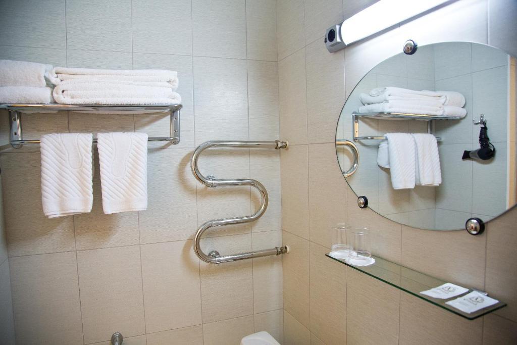 Ванная комната в Отель Интурист
