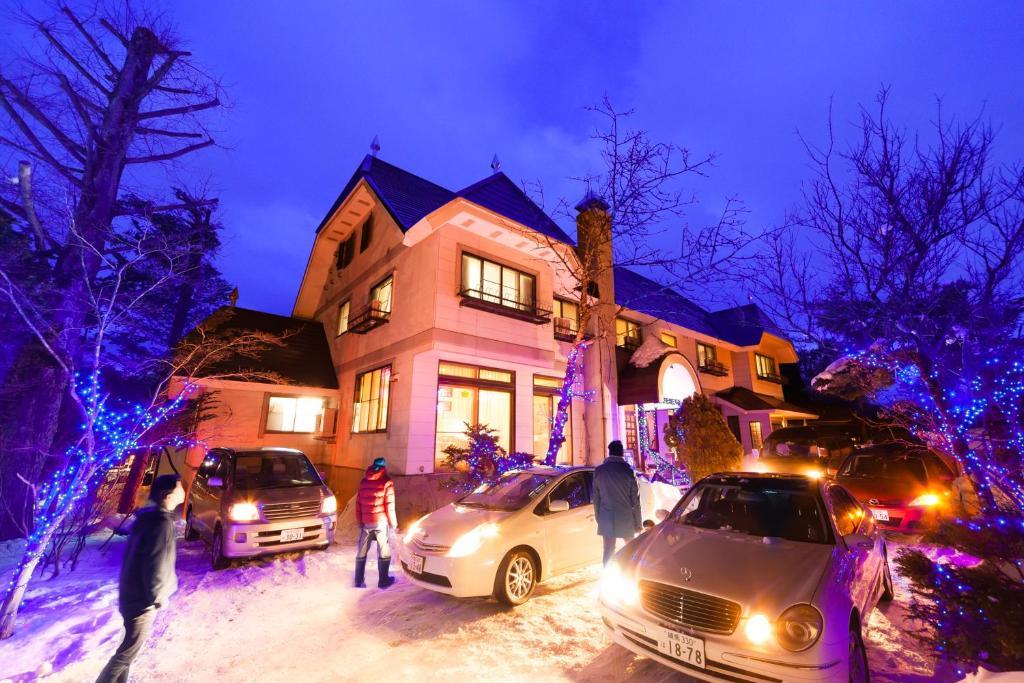 Petit Hotel P-Bow durante o inverno