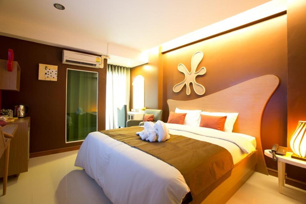 SF ビズ ホテルにあるベッド
