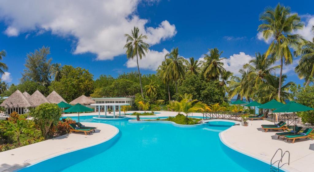The swimming pool at or near Equator Village Resort