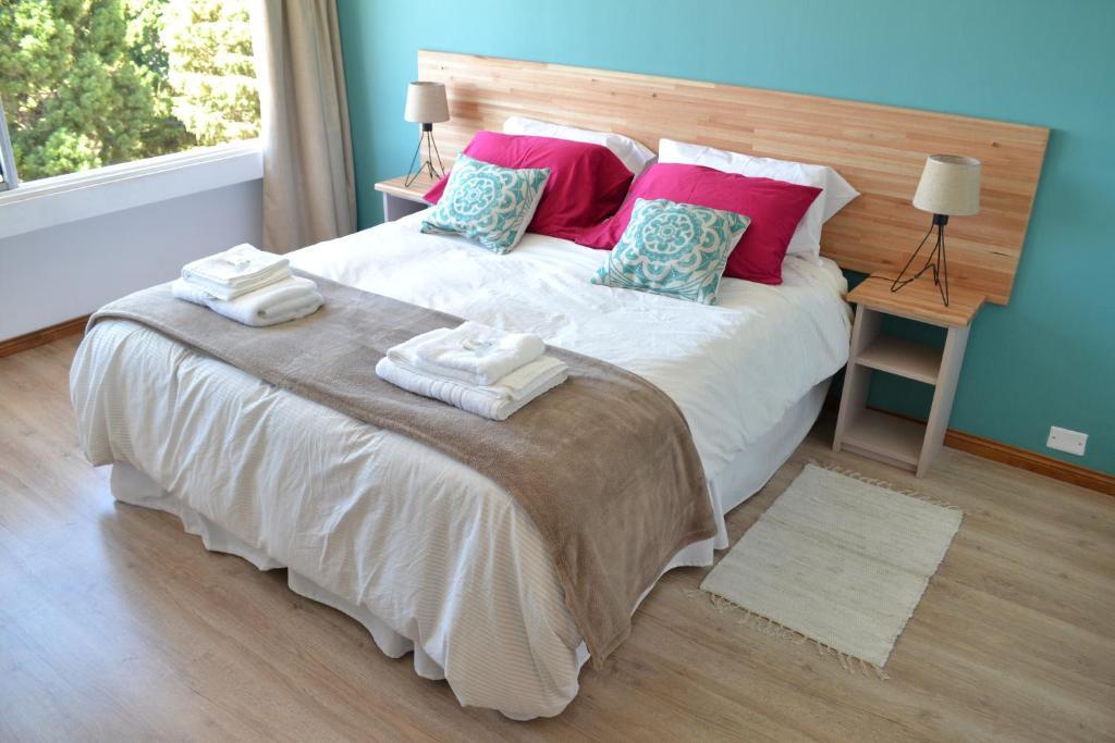 Una cama o camas en una habitación de studio Nothofagus