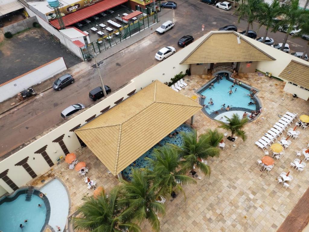 Uma vista aérea de Hotel DiRoma Exclusive