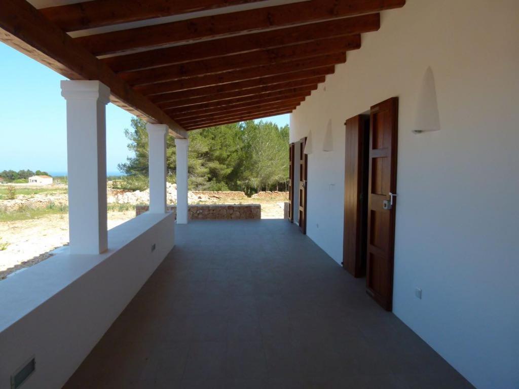 A balcony or terrace at Casa S'Olibassa
