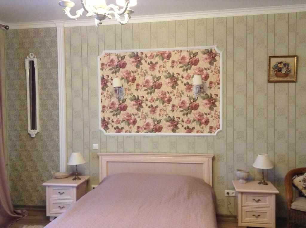 Кровать или кровати в номере Rauschen Apart Hotel