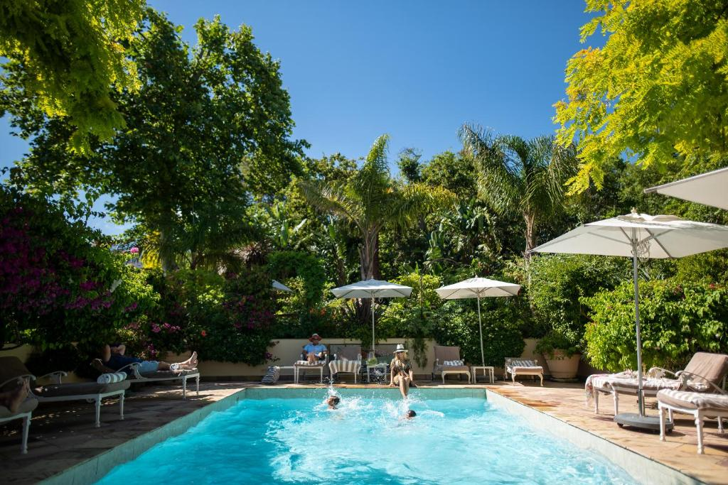 The swimming pool at or near The Last Word Constantia