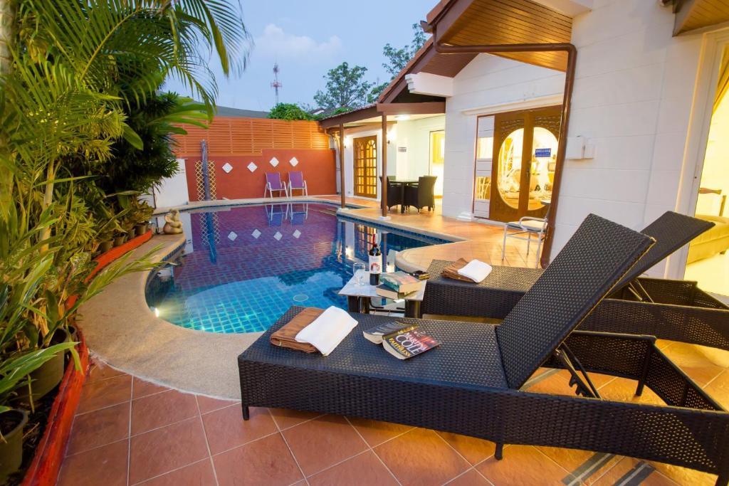 Piscina di Grand Condo Orchid Pool Villa o nelle vicinanze