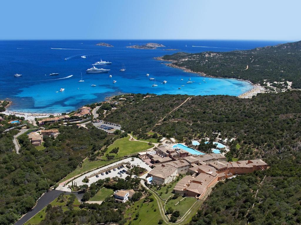 Pohľad z vtáčej perspektívy na ubytovanie CPH | Pevero Hotel