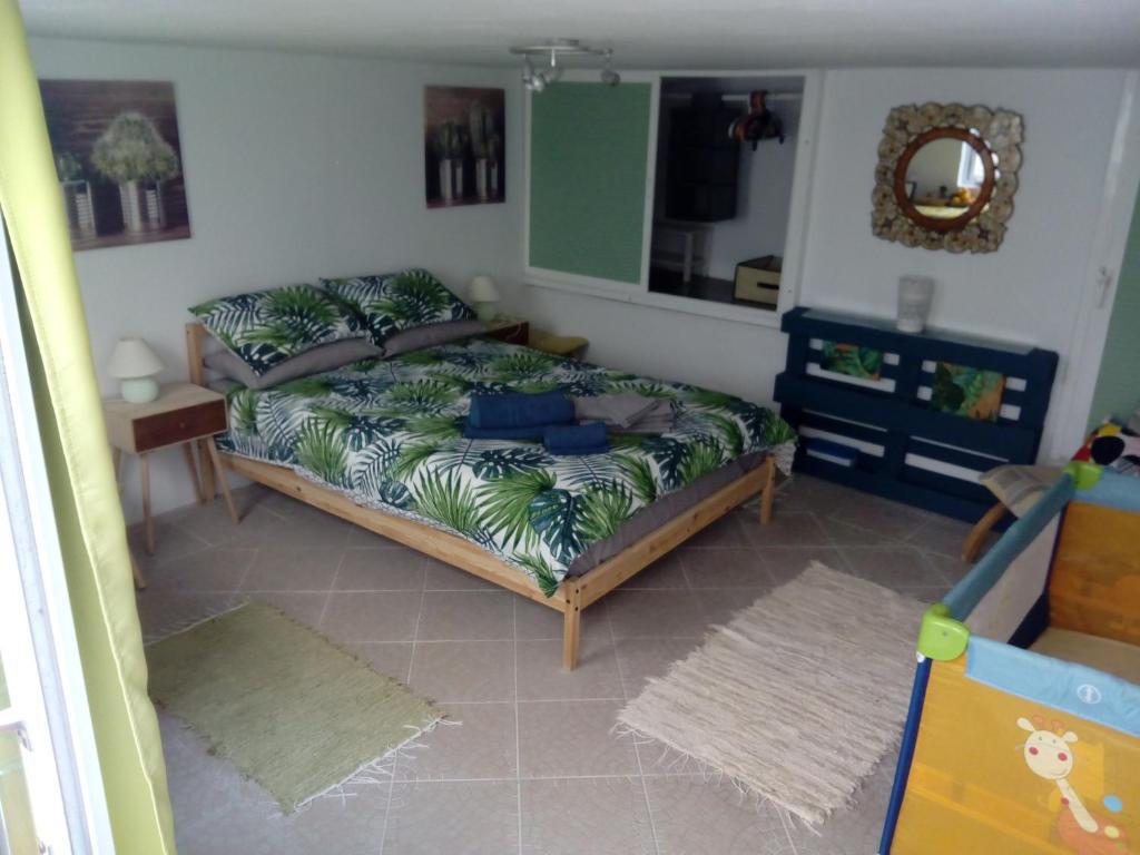 Cama ou camas em um quarto em Great beach location