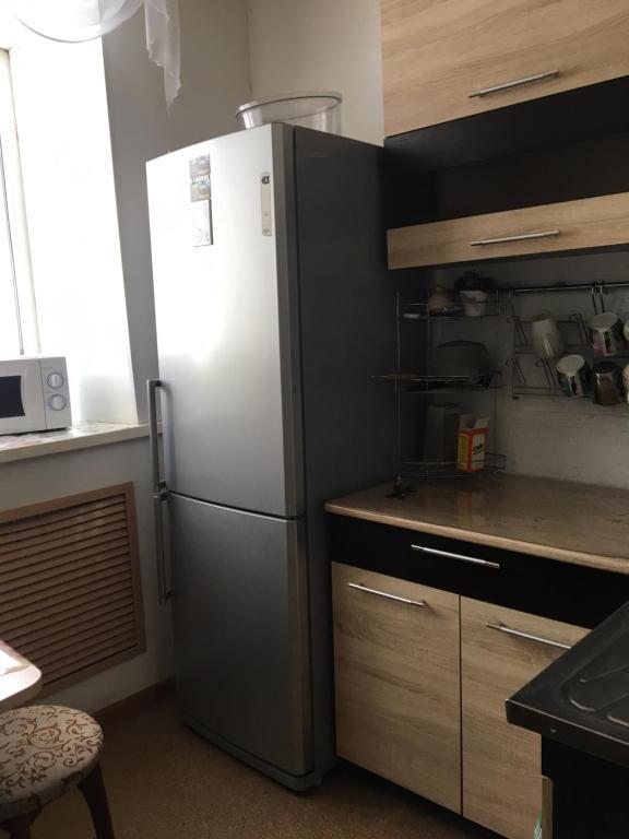 A kitchen or kitchenette at Hostel Tip-Top