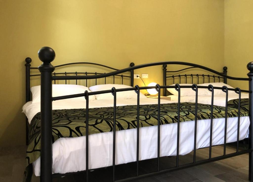 蘭嶼IGANG文旅房間的床